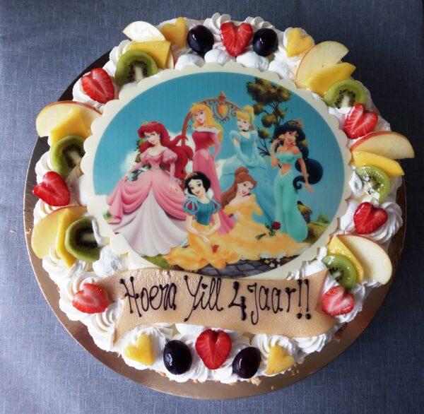 slagroom taart met afbeelding